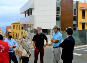 A buen ritmo las obras del nuevo edificio de Cruz Roja en La Orotava