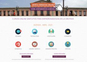 La plataforma formativa online que ofrece el Ayuntamiento villero registró más de 1.790 solicitudes de matrícula