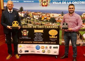 LA OROTAVA ACOGE LA II GALA DEL BALON DE ORO CANARIO DE LA TERCERA DIVISIÓN