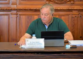 Raúl González se despide en el Pleno de la política municipal