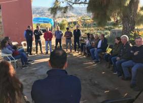 Encuentro con agricultores y ganaderos de La Orotava