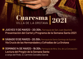 La imagen que anunciará la Cuaresma villera, que este año no celebrará procesiones, será la del Cristo Yacente de la Hermandad del Santo Entierro