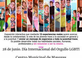 La muestra, con la que se conmemorará el 'Día Internacional del Orgullo LGTBI' (28 de junio), se podrá visitar del 14 al 25 de junio, en el Centro Municipal de Mayores de La Orotava