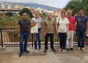 El Ayuntamiento de Güímar muestra interés por los huertos ecológicos villeros