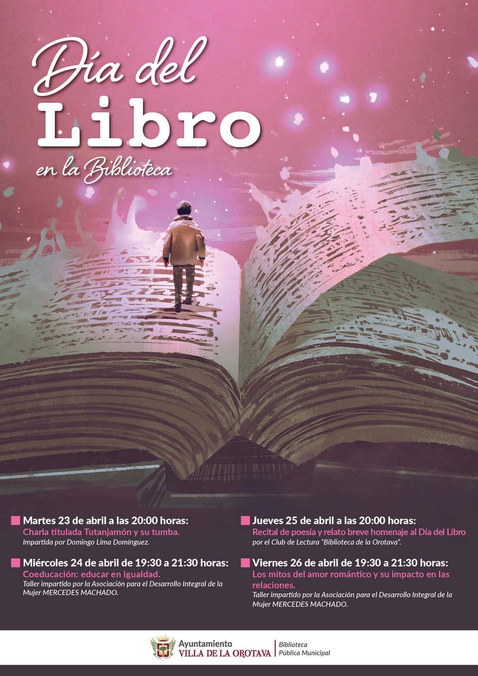 Día del libro en la biblioteca de La Orotava | Villa de La