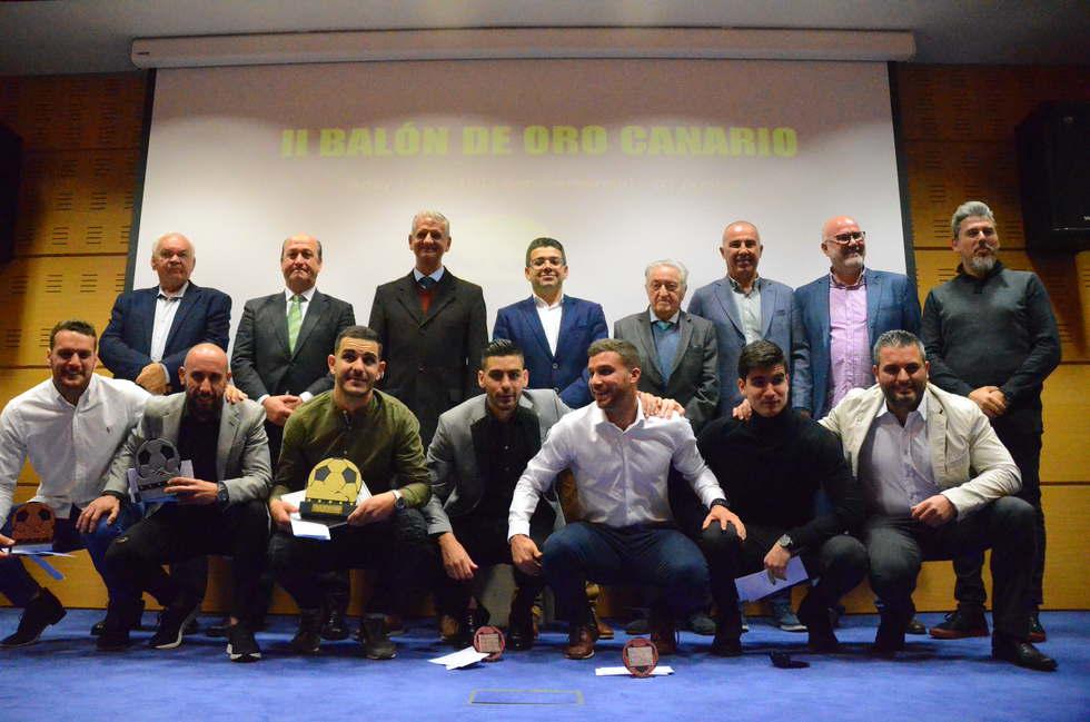 Aday López ganador del II Balón de Oro del Grupo Canario de la Tercera División en La Orotava