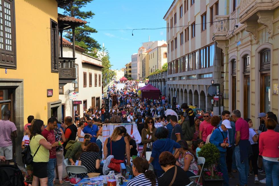 Más de 12.000 personas se dieron cita en Arte Joven en la Calle