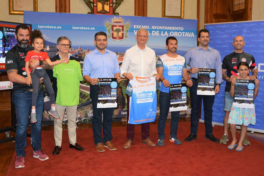 El casco histórico de La Orotava acoge el próximo 30 de junio la carrera nocturna 8km