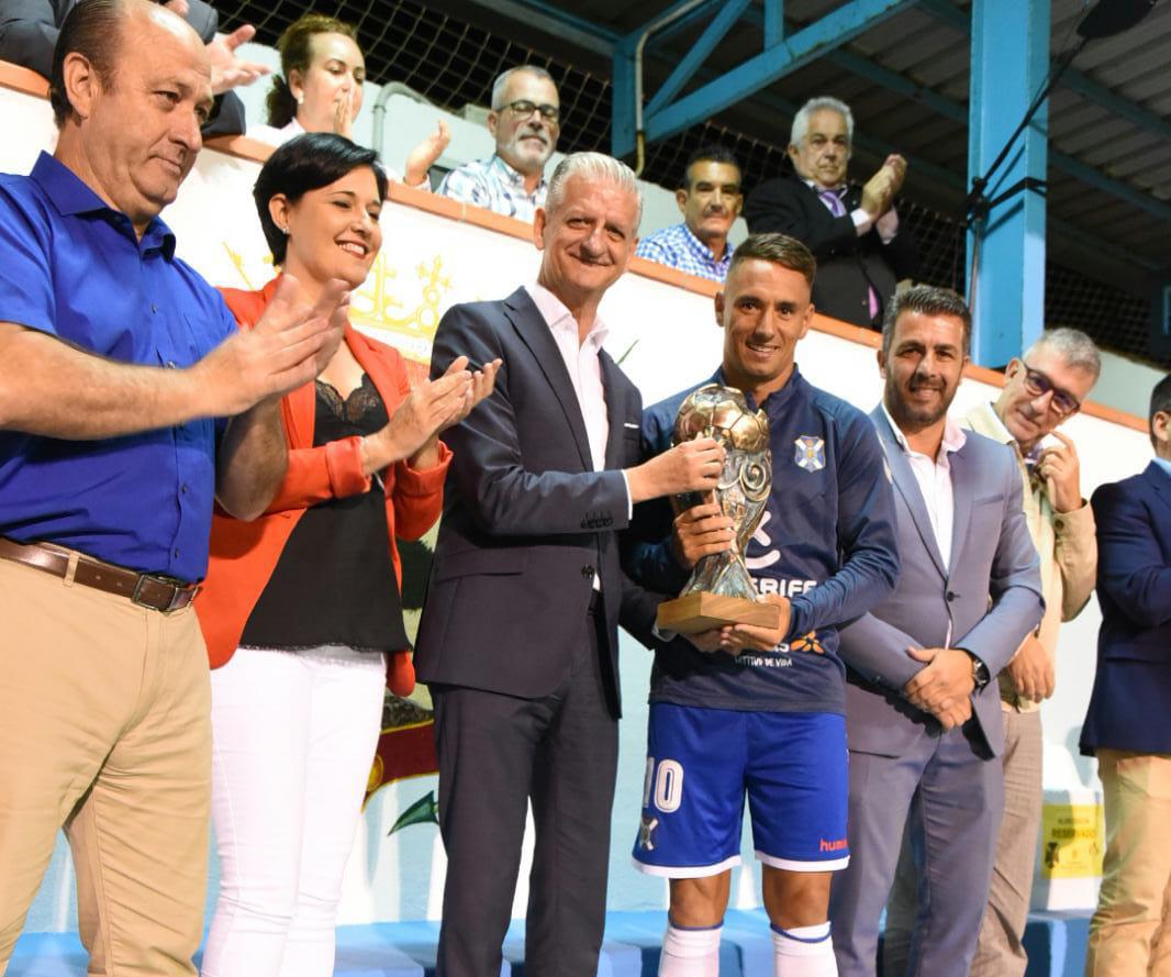 El CD Tenerife se lleva el Trofeo Teide