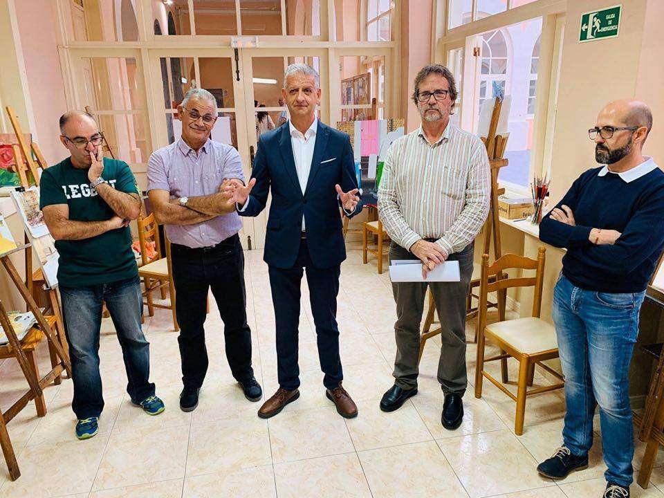 Inaugurado el curso de la Academia Municipal de Arte Perdigónc