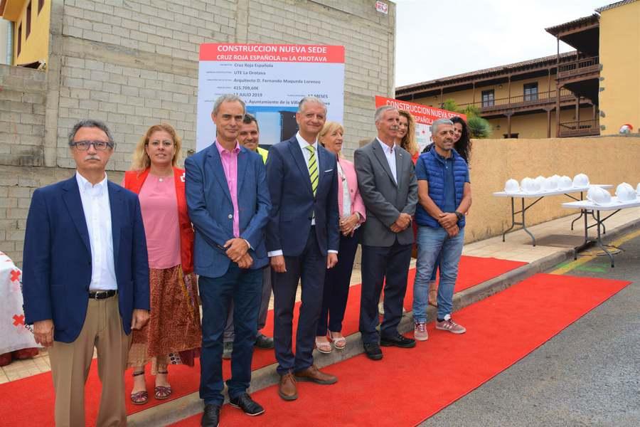 Comienza la construcción del edificio de Cruz Roja en La Orotava
