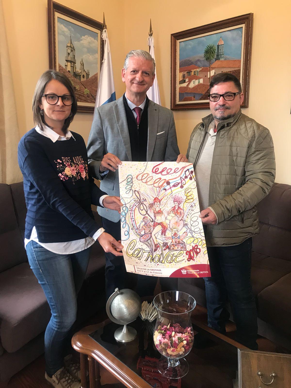 Resultado de imagen de cartel carnaval la orotava 2018