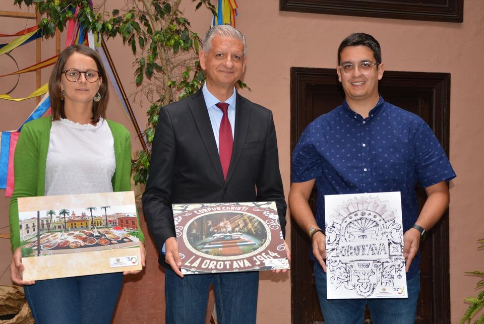 La Asociación de Alfombristas de La Orotava presenta sus diversas actividades para la promoción del arte efímero, único en el mundo