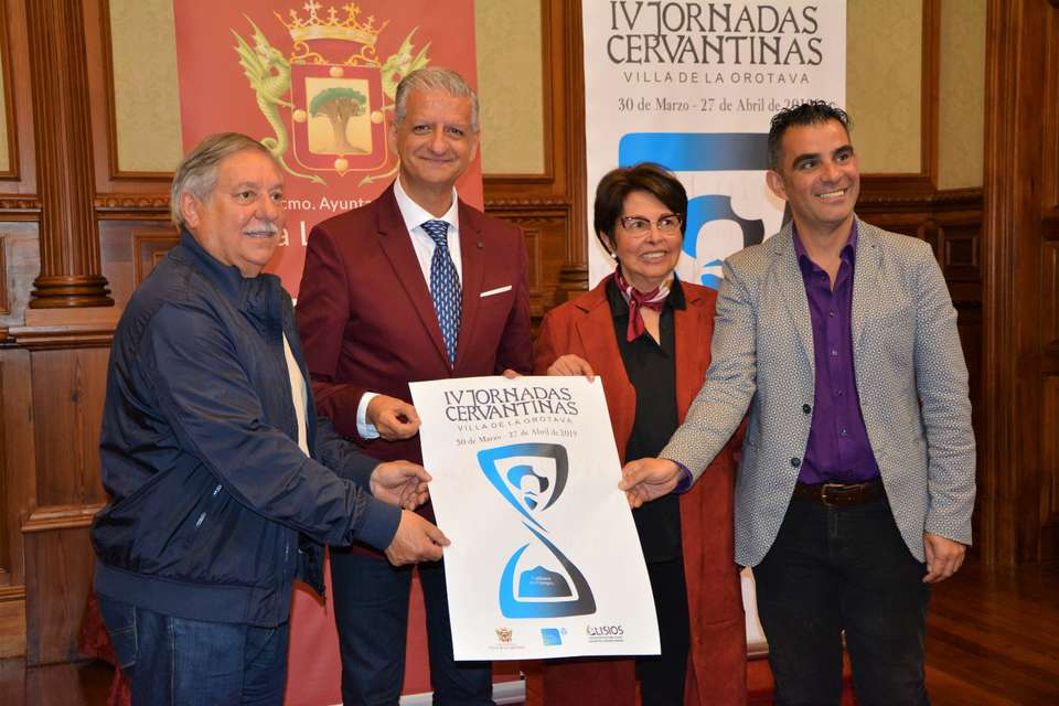 El consistorio villero acogió la presentación de la IV edición de las Jornadas Cervantinas