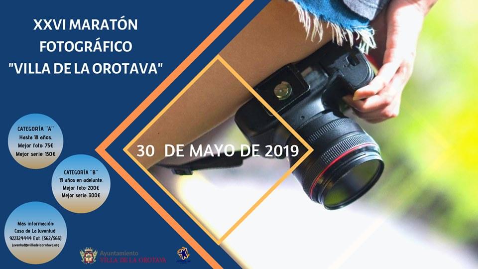 Juventud convoca el XXVI Maratón Fotográfico Villa de La Orotava
