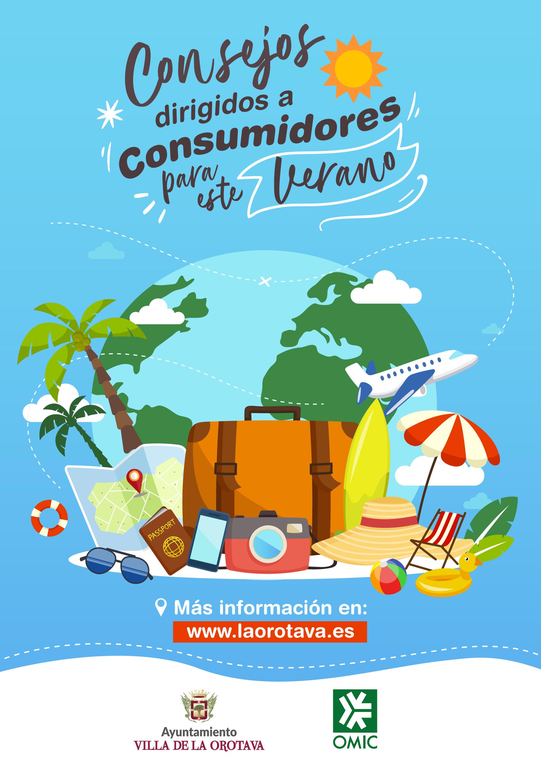 El Ayuntamiento villero, a través de la Oficina Municipal de Información al Consumidor, edita un vídeo y cartelería con recomendaciones para la compra de servicios durante este periodo estival