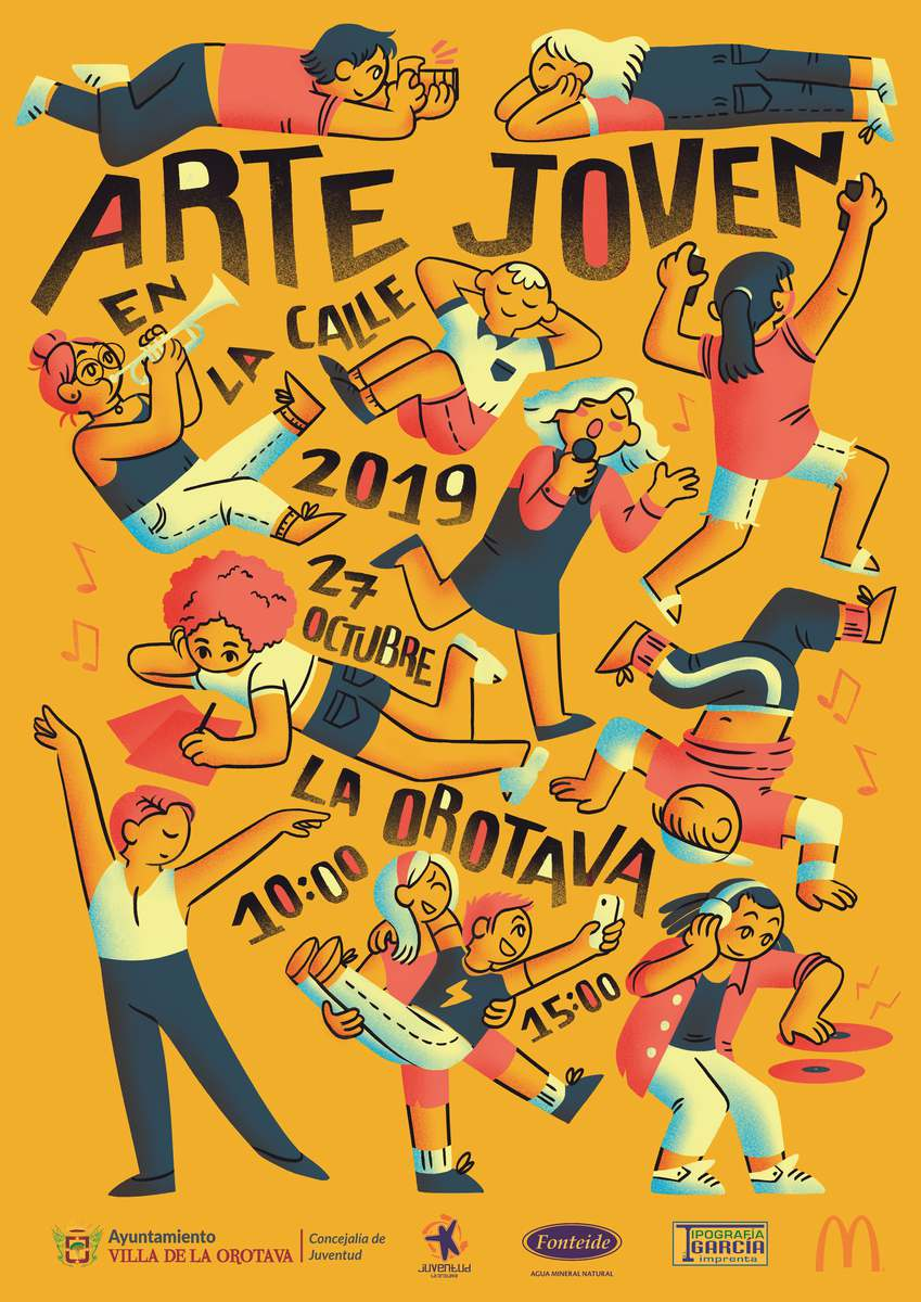 Arte Joven en la Calle, ya tiene cartel