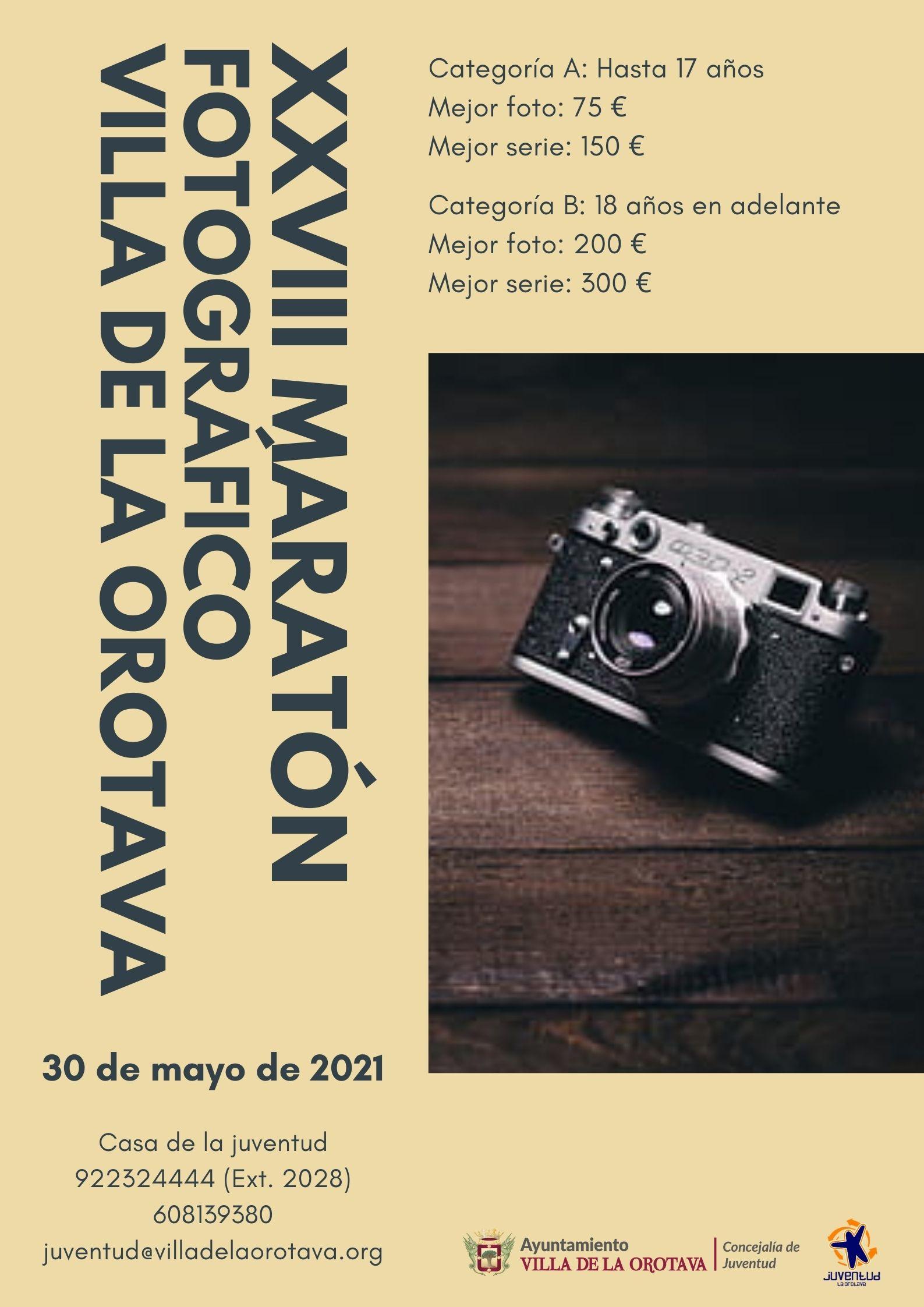 El certamen se celebrará el próximo 30 de mayo 'Día de Canarias' El plazo de inscripción finaliza el 29 de mayo y se tendrá que tramitar a través del siguiente enlace: https://forms.gle/kxqa46SvjH8unMNV6