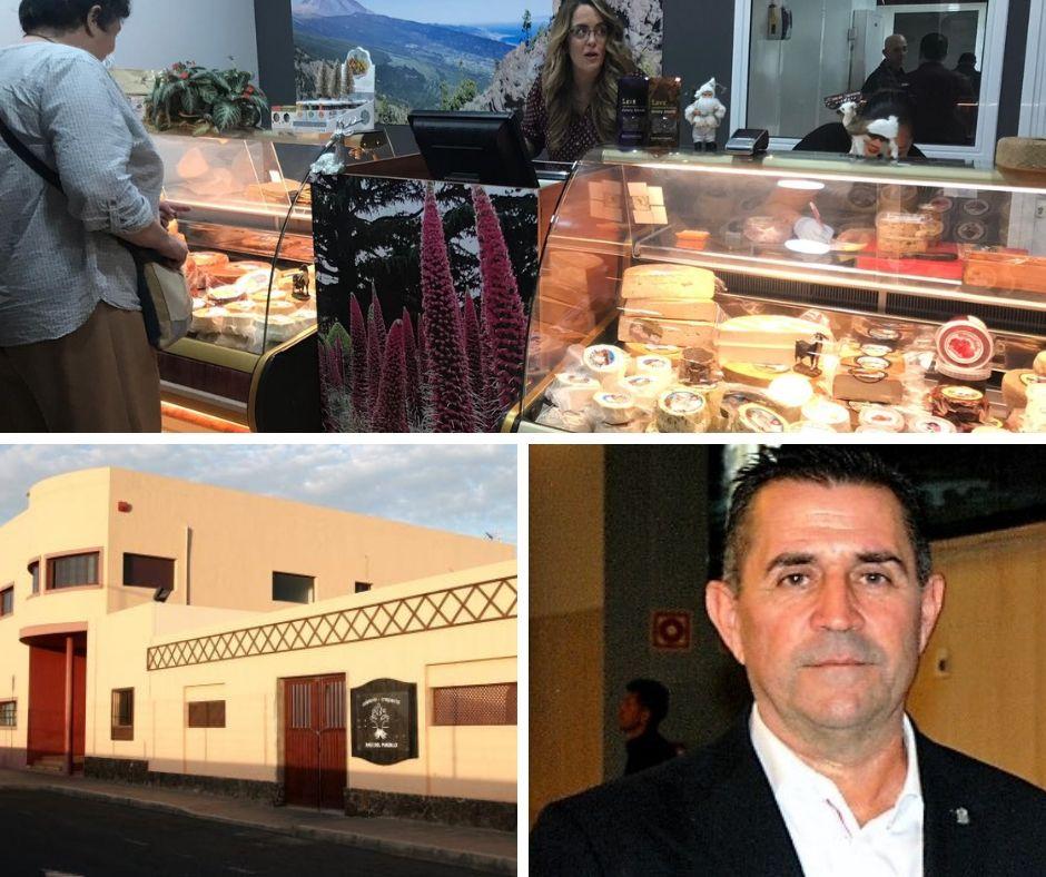Cho Feriantes de Honor para Miguel Ángel Clavijo Redondo, la Asociación Cultural Raíz del Pueblo de La Oliva y la empresa 7 Islas 7 Quesos