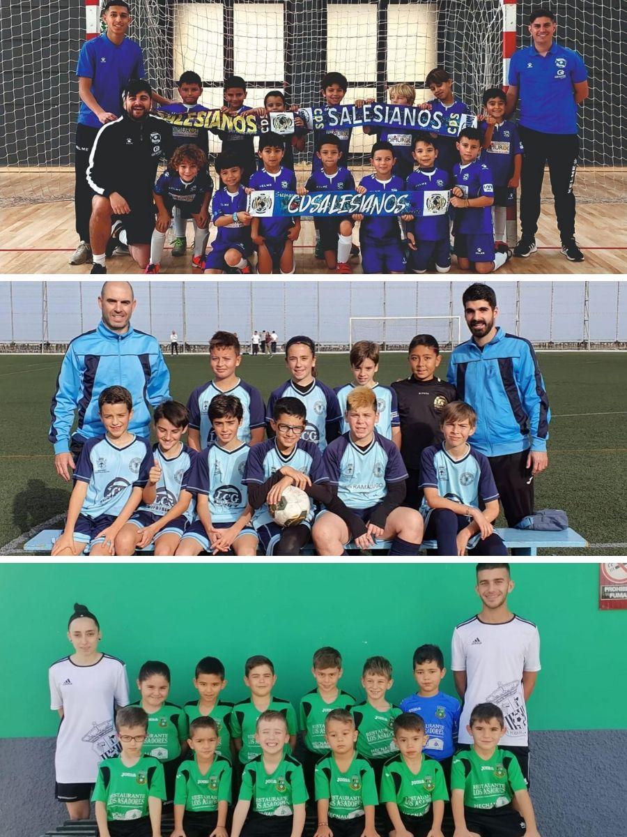 """Tres clubes de La Orotava, premiados con el """"Balón de Oro"""" en diferentes categorías"""