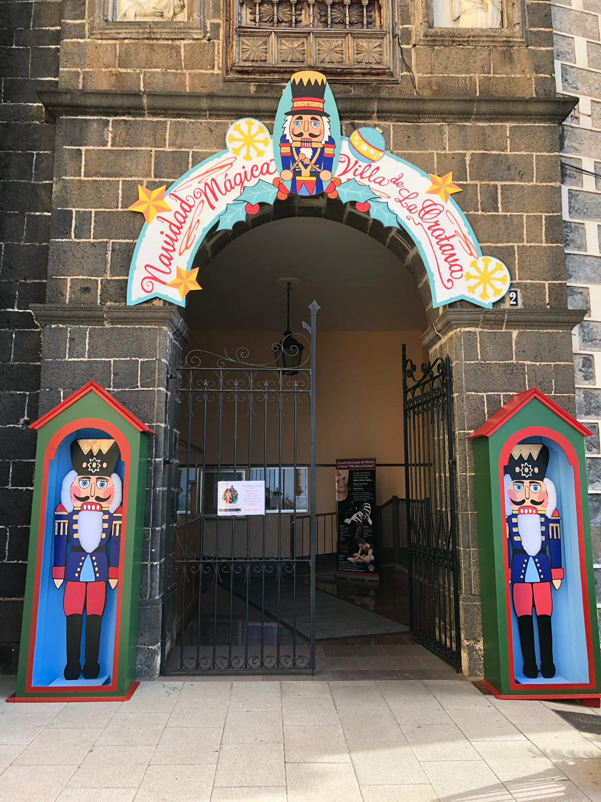La Orotava celebra la II Feria de Navidad