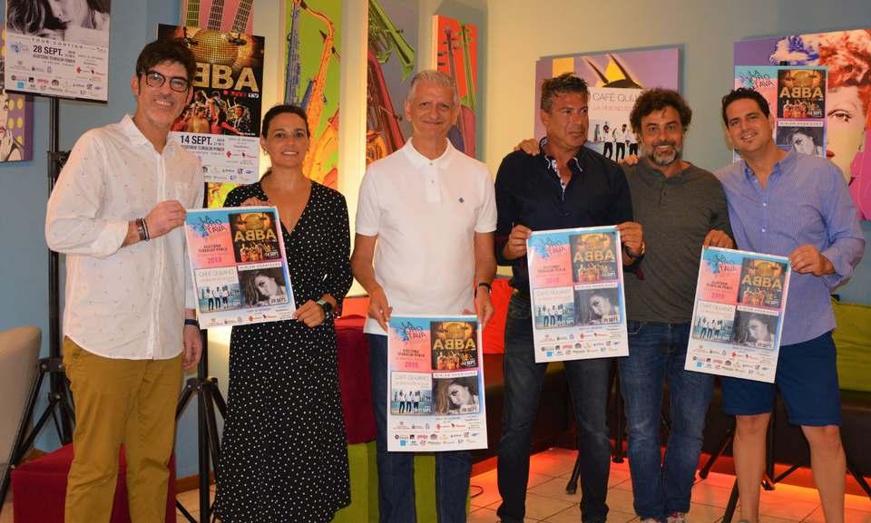 Café Quijano y Miriam Rodríguez, en septiembre en la Villa con el festival 'La Orotava Suena'