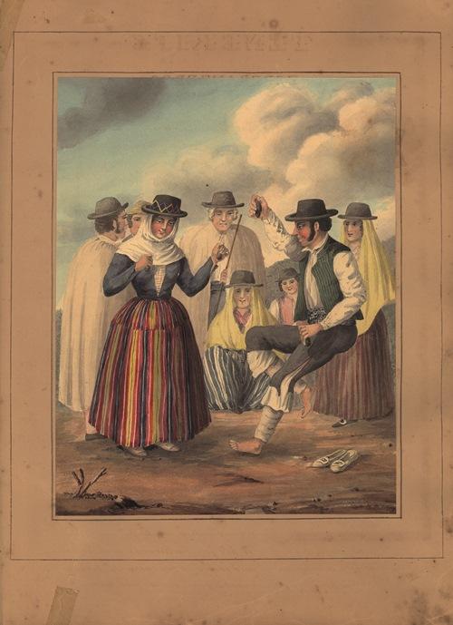 Se edita el libro Costume of the Canary Islands, de Alfred Diston, un legado sobre vestimenta tradicional canaria en el siglo XIX