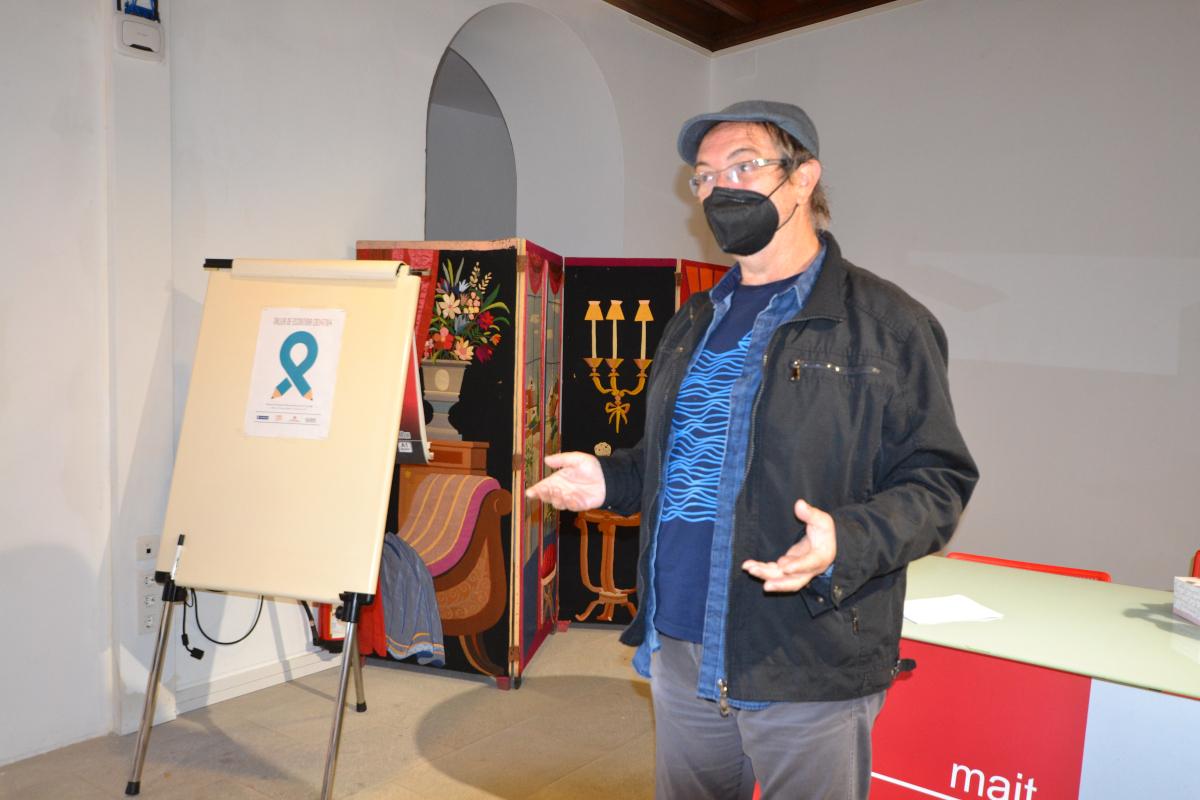La actividad enmarcada en las V Jornadas Cervantinas contó con la presencia del escritor José MaríaEspinar, premio Iberoamericano Verbum de Novela 2020