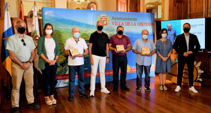 La Orotava acoge el acto de entrega de distinciones del VIII Festival de la Lana de Canarias