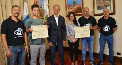 Docemesesunacausa recaudó 8.000 euros y los reparte entre Crevo y el joven Rafael Méndez