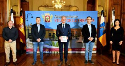 Todos los grupos políticos del ayuntamiento villero firman el Pacto Municipal para la Reactivación Social y Económica de La Orotava