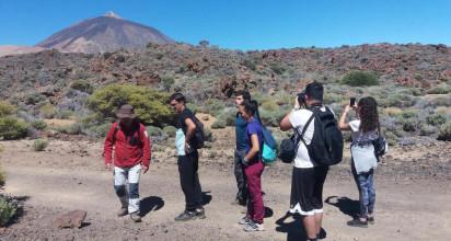 Los jóvenes orotavenses disfrutan de actividades alternativas en la naturaleza