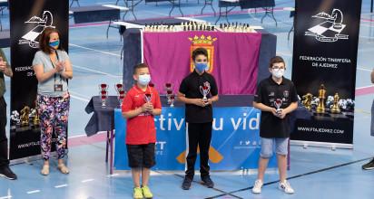 El jugador villero del Club Piratas La Orotava Puerto Cruz se alzó con el triunfo en su categoría dentro del certamen celebrado el pasado fin de semana en el Pabellón Pablos Abril de Taco (La Laguna)