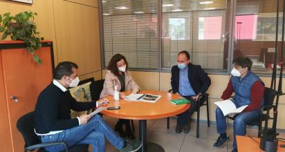 El concejal de Medio Ambiente y Cambio Climático del Ayuntamiento de La Orotava, Luis Perera, mantuvo una reunión con la Consejera Insular de Gestión del Medio Natural y Seguridad, Isabel García, donde se trataron varios asuntos de interés para el municipio