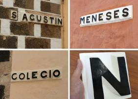 Restaurados los antiguos rótulos de cerámica de algunas calles del centro histórico de La Orotava