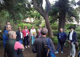 Voluntarios mayores de 55 años se forman para poner en valor la Hijuela del Botánico de La Orotava