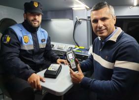 La Policía Local de La Orotava cuenta con un nuevo etilómetro evidencial