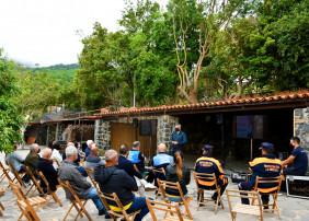 El concejal de Seguridad, Narciso Pérez, destacó la importancia de la colaboración vecinal y, de forma especial, de los presidentes de las asociaciones de vecinos.