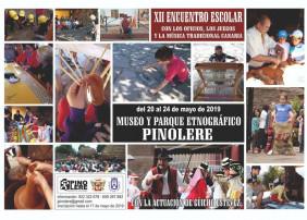 PINOLERE ESPERA ACOGER A MIL ESCOLARES DE TENERIFE DURANTE EL XII ENCUENTRO ESCOLAR CON LOS OFICIOS, LOS JUEGOS Y LA MÚSICA TRADICIONAL CANARIA