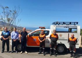 El Ayuntamiento villero dota a Protección Civil de un nuevo vehículo de intervención