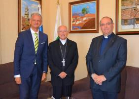 Recepción al Obispo Emérito de Ávila