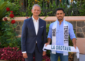 Recepción al Mister Global Tenerife 2019