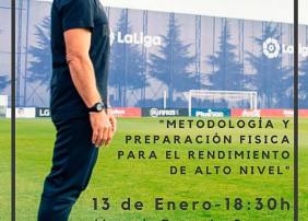 LA OROTAVA ACOGE UNA CHARLA DEL 'PROFE ORTEGA' SOBRE 'METODOLOGÍA Y PREPARACIÓN FÍSICA PARA EL RENDIMIENTO DEPORTIVO DE ALTO NIVEL