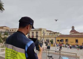LA POLICÍA LOCAL DE LA VILLA, ÚNICA EN LA ISLA CON UNA UNIDAD DE DRON