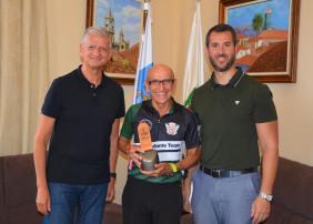 Miguel Ángel García (Kiko) primer canario que sube al pódium en la UTMB, carrera de montaña más importante del mundo