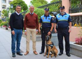 La Orotava contará, a partir de junio, con una Unidad Canina en la Policía Local