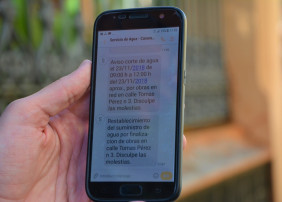 Los vecinos de La Orotava podrán recibir información directa sobre cortes o averías en el suministro de agua