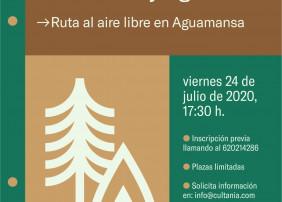 Ruta por Aguamansa para la prevención de incendios en zonas forestales y agrarias