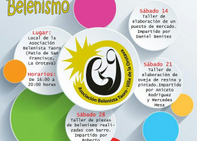 La Asociación Belenista Taoro organiza unos talleres de Belenismo en septiembre