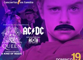 Érase una vez el Rock - Conciertos en Familia vuelve el 19 de mayo al Auditorio Teobaldo Power